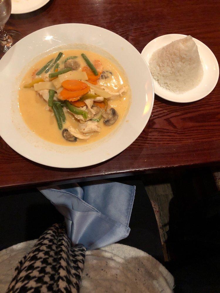 Food from The Taste Thai Restaurant