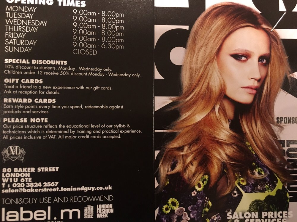 Toni Guy Hair Extensions 80 Baker Street Marylebone London
