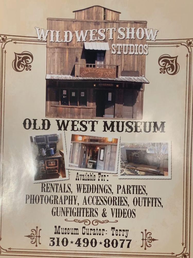 Wild West Show Museum: 119 S Main St, Lone Pine, CA