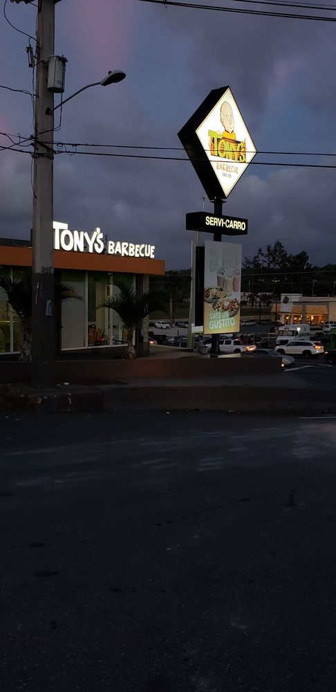 Tony's BBQ: Carretera 2 Km 93.9, Camuy, PR