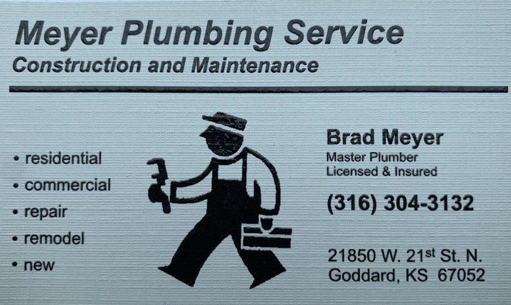 Meyer Plumbing Services: Goddard, KS