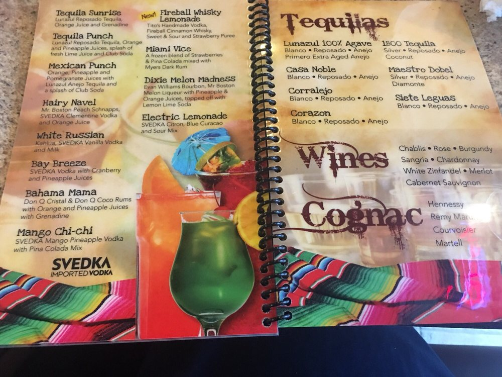 Dos Amigos Mexican Grill & Tequila Bar: 2121 Boundary St, Beaufort, SC