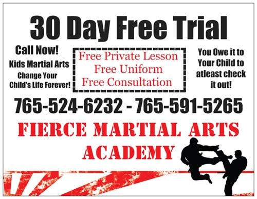 Fierce Martial Arts Academy: 1640 I Ave, New Castle, IN