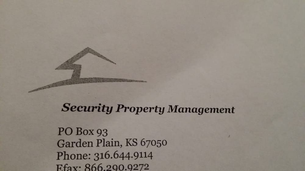 Security Property Management: Garden Plain, KS
