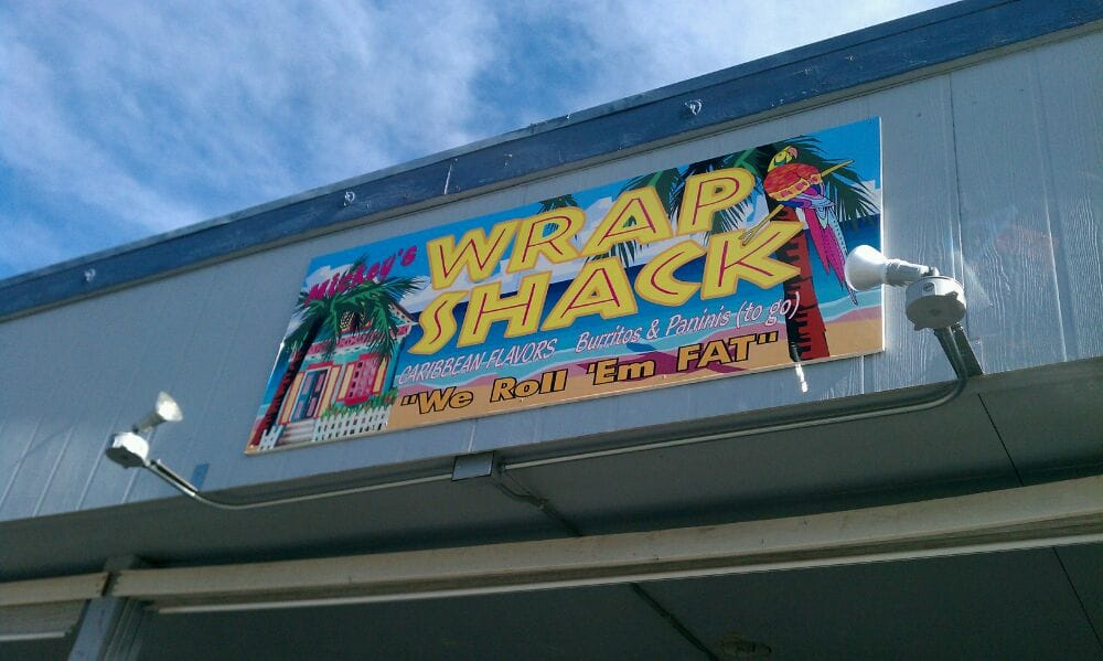 Mickey s wrap shack closed caribbean 160 harrison for Auburn caribbean cuisine