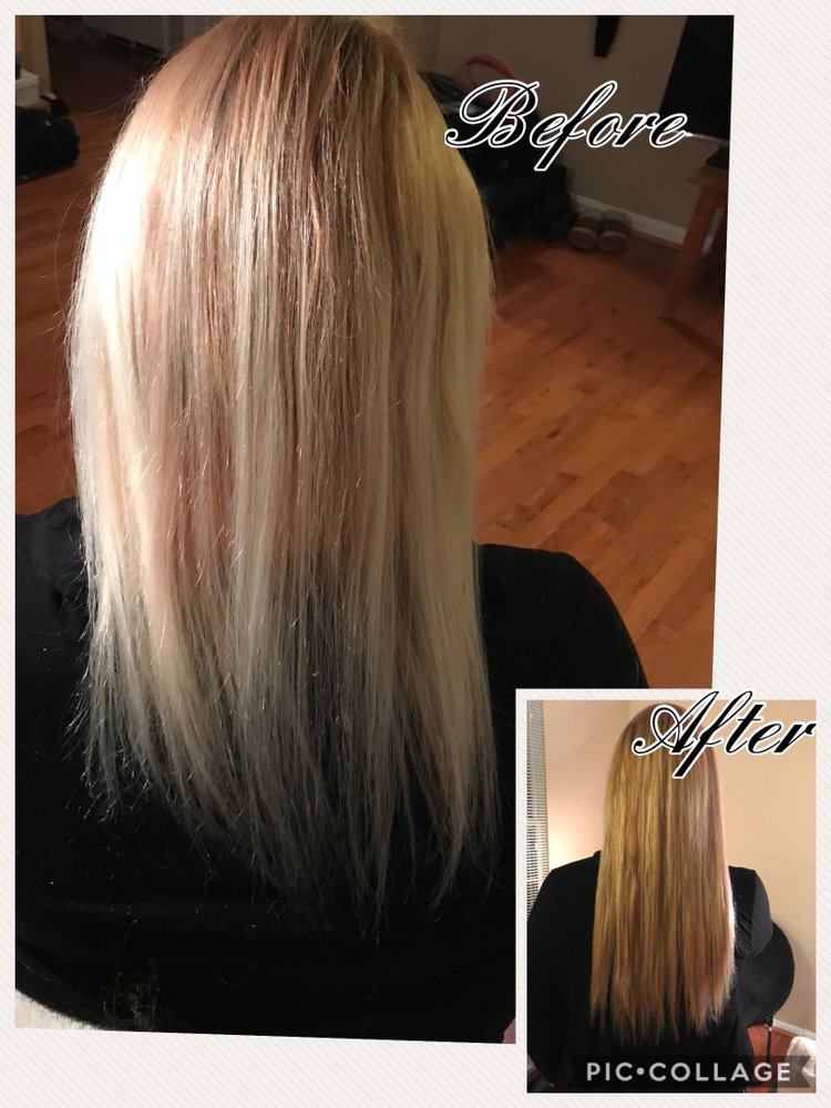Go From Short Fine Hair To Long Full Locks Keratin Infused Hair