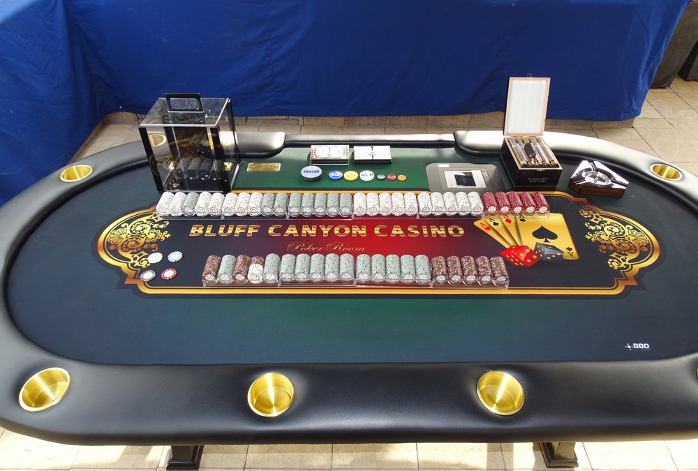 Photo of BBO Poker Tables - Pittsburg CA United States. The full set & The full set up! - Yelp