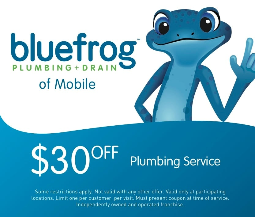 bluefrog Plumbing + Drain of Mobile: 2001 US Hwy 98, Daphne, AL