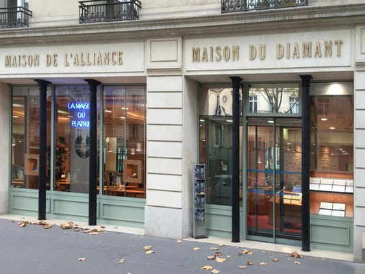 Maison de l alliance jewellery 104 bd haussmann saint lazare grands maga - Maison des alliances ...