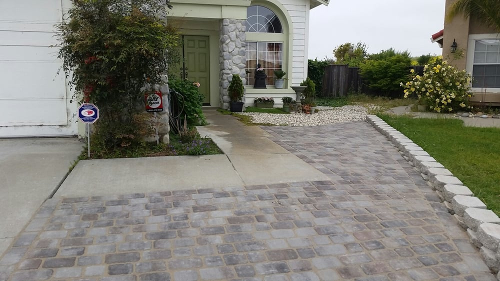 Photo Of Creative Landscapes   Hayward, CA, United States. Front Yard With  Belgian