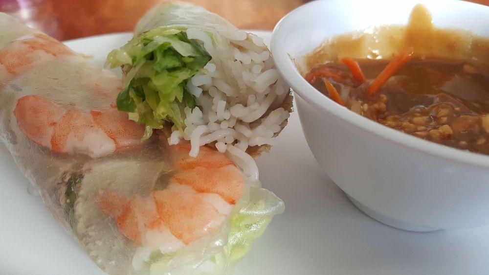 Food from Ocean Pho
