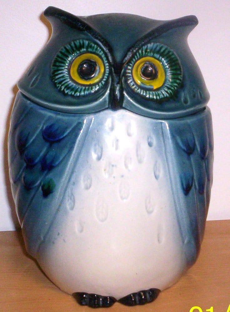 Photo Of Artpot South Hackensack Nj United States Blue Owl Cookie Jar