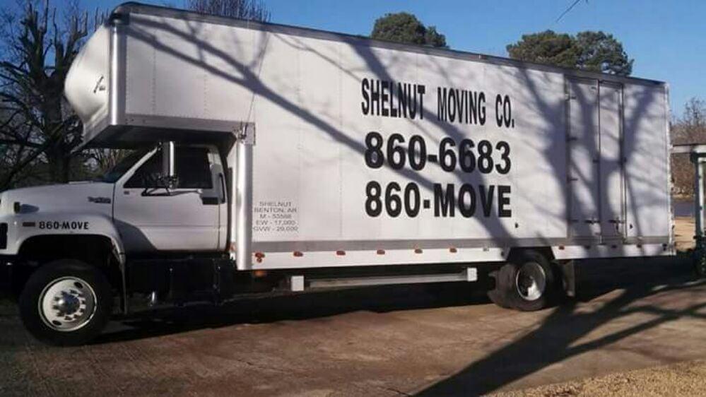 Shelnut Moving: 2115 W Lakeview, Benton, AR
