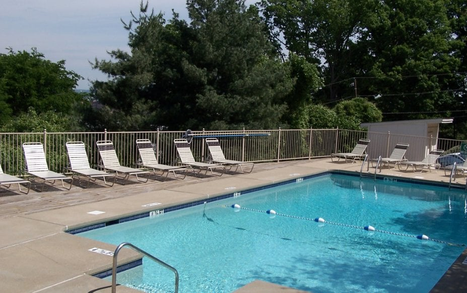Sparkling Swimming Pool At Terrace Apartments Yelp