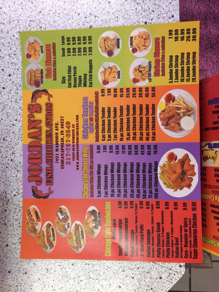 Jordan s fish chicken gyros seafood 7021 madison ave for Jordans fish and chicken near me
