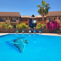 Photo Of Hotel Tripui Loreto Baja California Sur Mexico Pool View