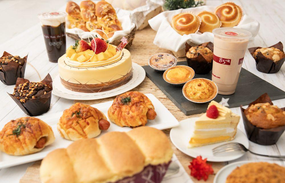 85°C Bakery Cafe: 17170 Colima Rd, Hacienda Heights, CA