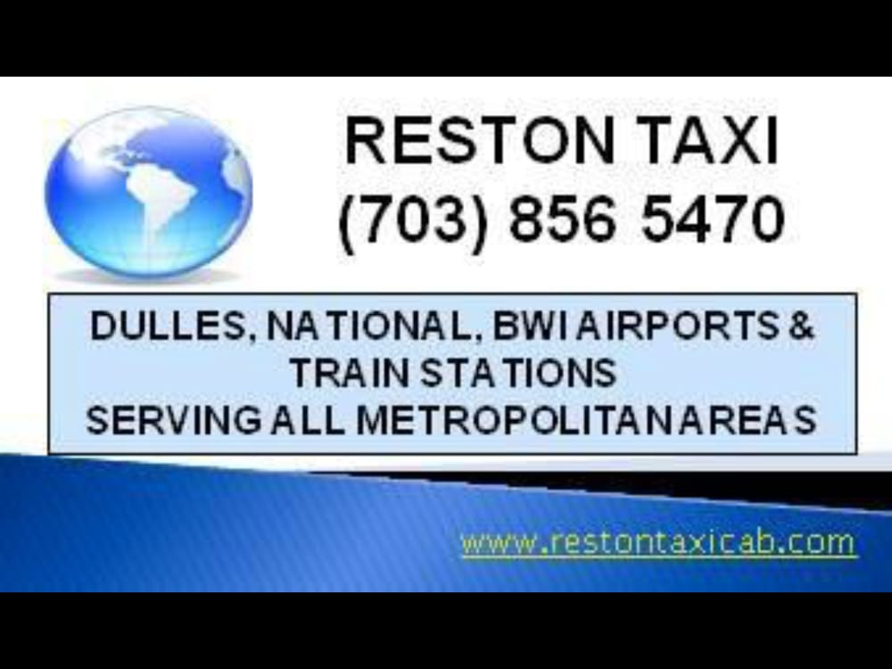 Reston Taxi: Herndon, VA