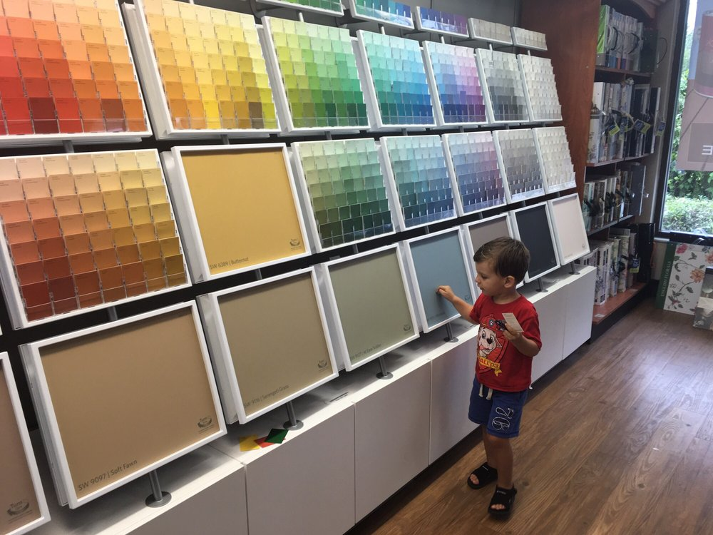 Sherwin-Williams Paint Store: 11915 N Dale Mabry Hwy, Tampa, FL