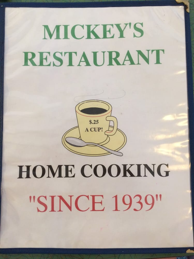 Mickey's Restaurant: 104 S Mulberry St, Berwick, PA