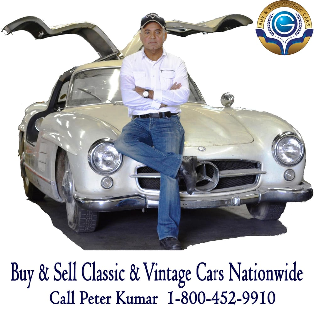 Call Peter Kumar to Sell your Classic & Vintage Cars. We make ...