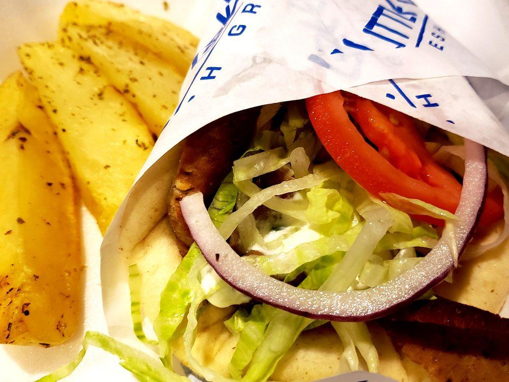 Little Greek Fresh Grill: 2700 E Eldorado Pkwy, Little Elm, TX