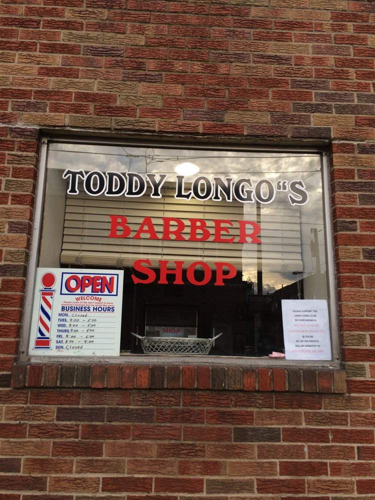 Toddy Longos Barber Shop Barbers 2313 S 12th St Philadelphia