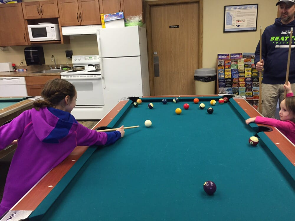 The Game Room Has A Few Pool Tables And Video Games The Games Are - Cannon pool table