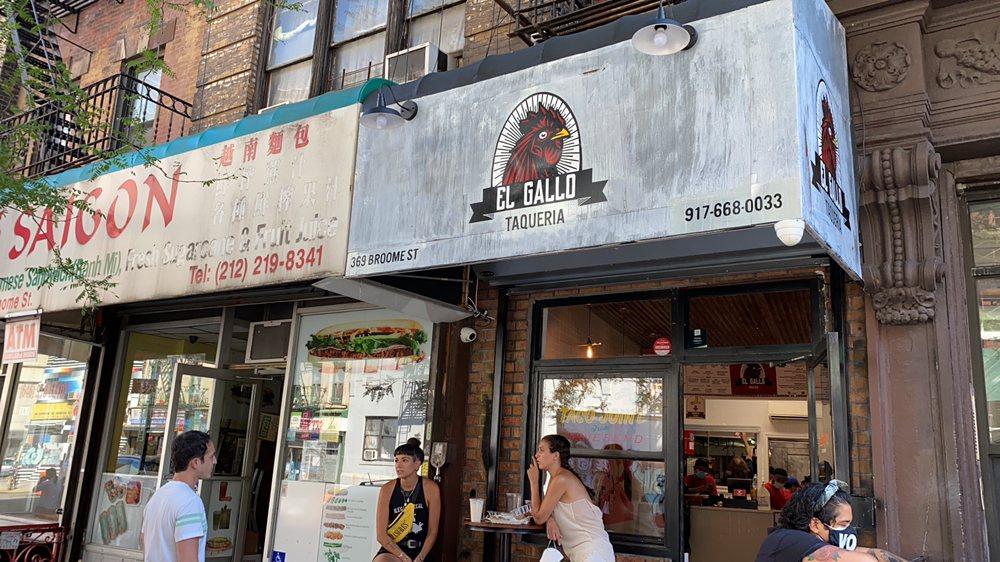 EL Gallo Taqueria: 369 Broome St, New York, NY