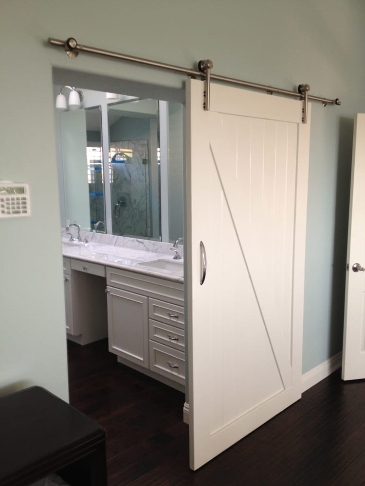 bathroom remodel barn door laguna niguel ca yelp. Black Bedroom Furniture Sets. Home Design Ideas