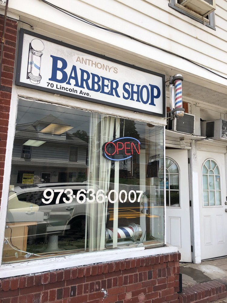 Anthonys Barber Shop Barbers 70 Lincoln Ave Hawthorne Nj