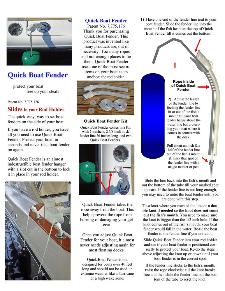 Here Are The Instructions To Set Quick Boat Fender For Your Boat