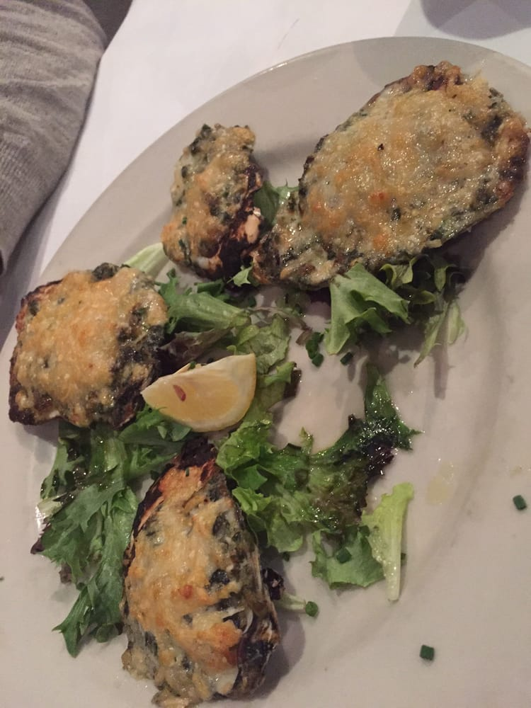 Oysters rockefeller yelp for Big fish grill on the riverfront wilmington de