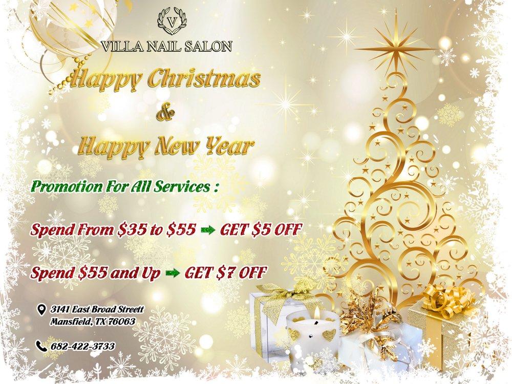 Villa Nail Salon Mansfield: 3141 E Broad St, Mansfield, TX