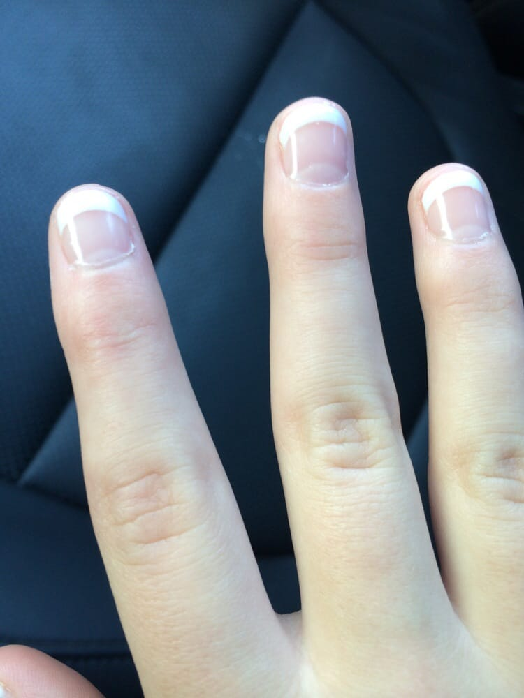 Super cute on Little Girl\'s short nails. American Manicure. - Yelp