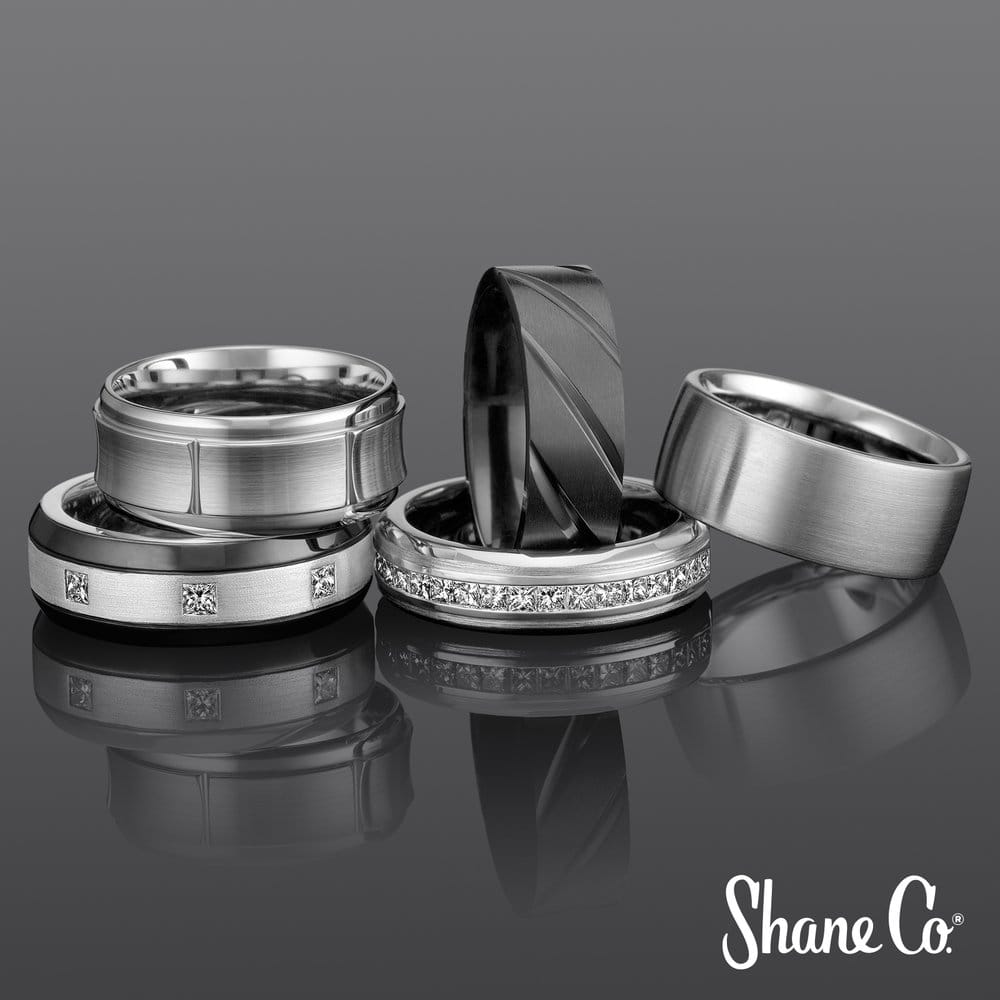 From Simple To Bold Shane Co Has A Wide Range Of Mens Wedding Bands