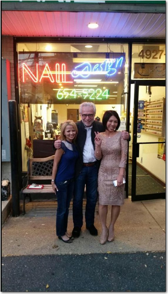 Wolf Blitzer enjoyed a mani/pedi at Nail Design. - Yelp