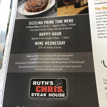 Ruth's Chris Steak House - 2019 All You Need to Know BEFORE You Go