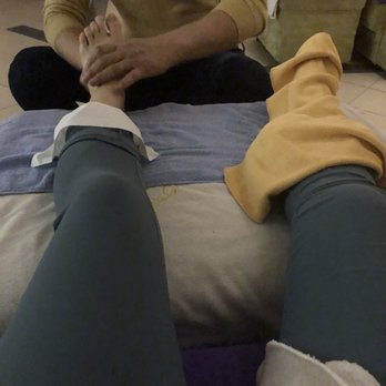 Foot lick massage rub smell smelly