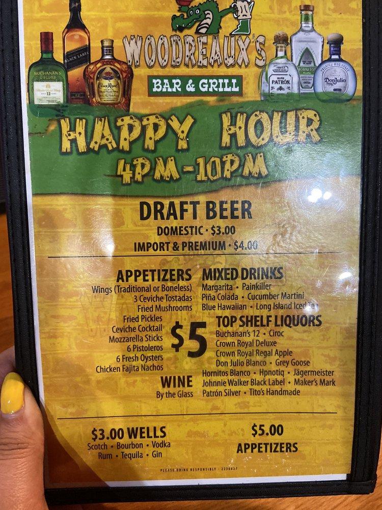 Woodreaux's Bar & Grill: 2724 S Expy 281, Edinburg, TX