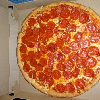 Photo Of Corner Pizza Restaurant Bristol Ct United States A Large Pepperoni