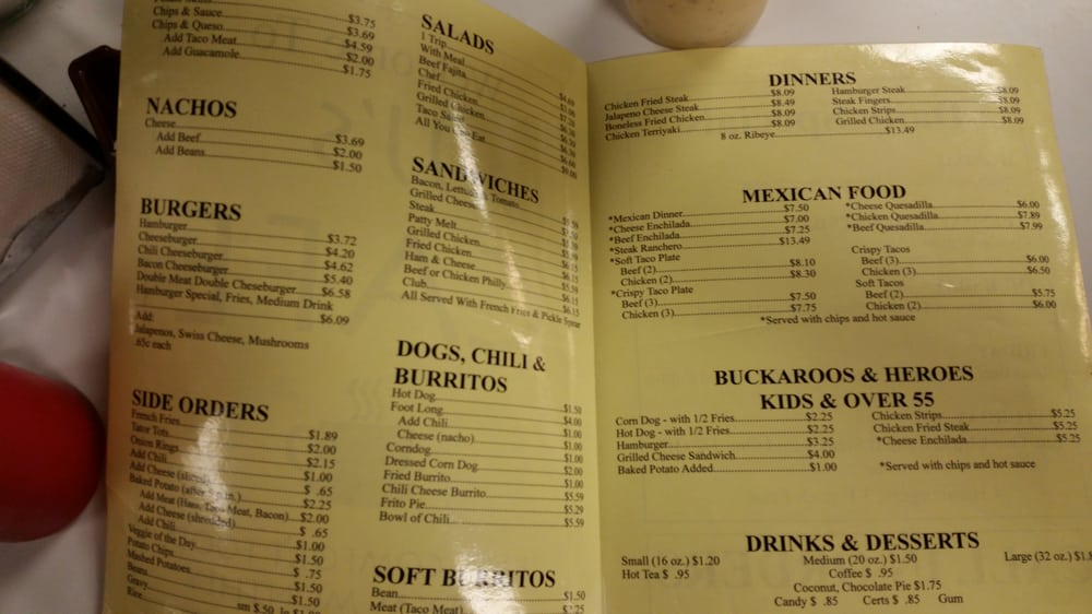 Online Menu of J Js Cafe Restaurant, Slaton, Texas, 79364 ...
