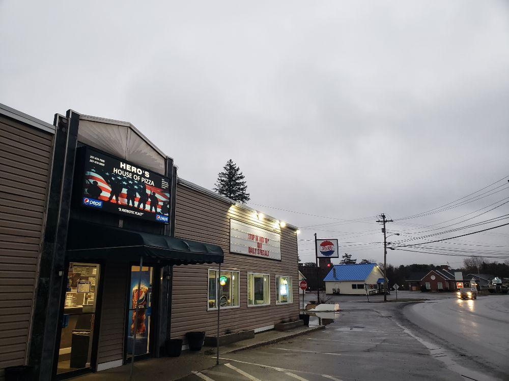 Hero's Pizza and Breakfast: 60 Waterville Rd, Skowhegan, ME