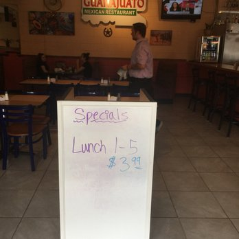 Photo Of Guanajuato Mexican Restaurant North Augusta Sc United States Lunch Special