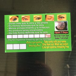 Angelic Eyebrow Threading Henna Tattoo Closed Eyebrow Services