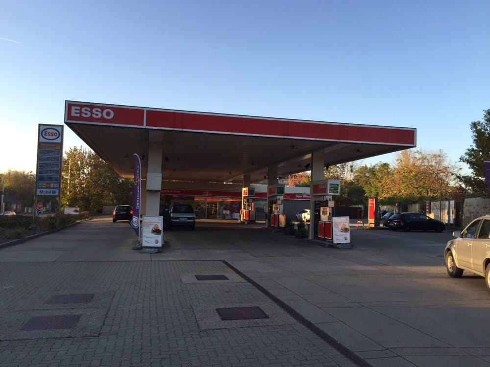 Esso Bensa Asemat Leipziger Str 2 E Dresden Sachsen