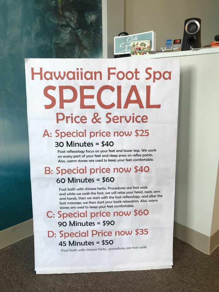 Hawaiian Foot Spa