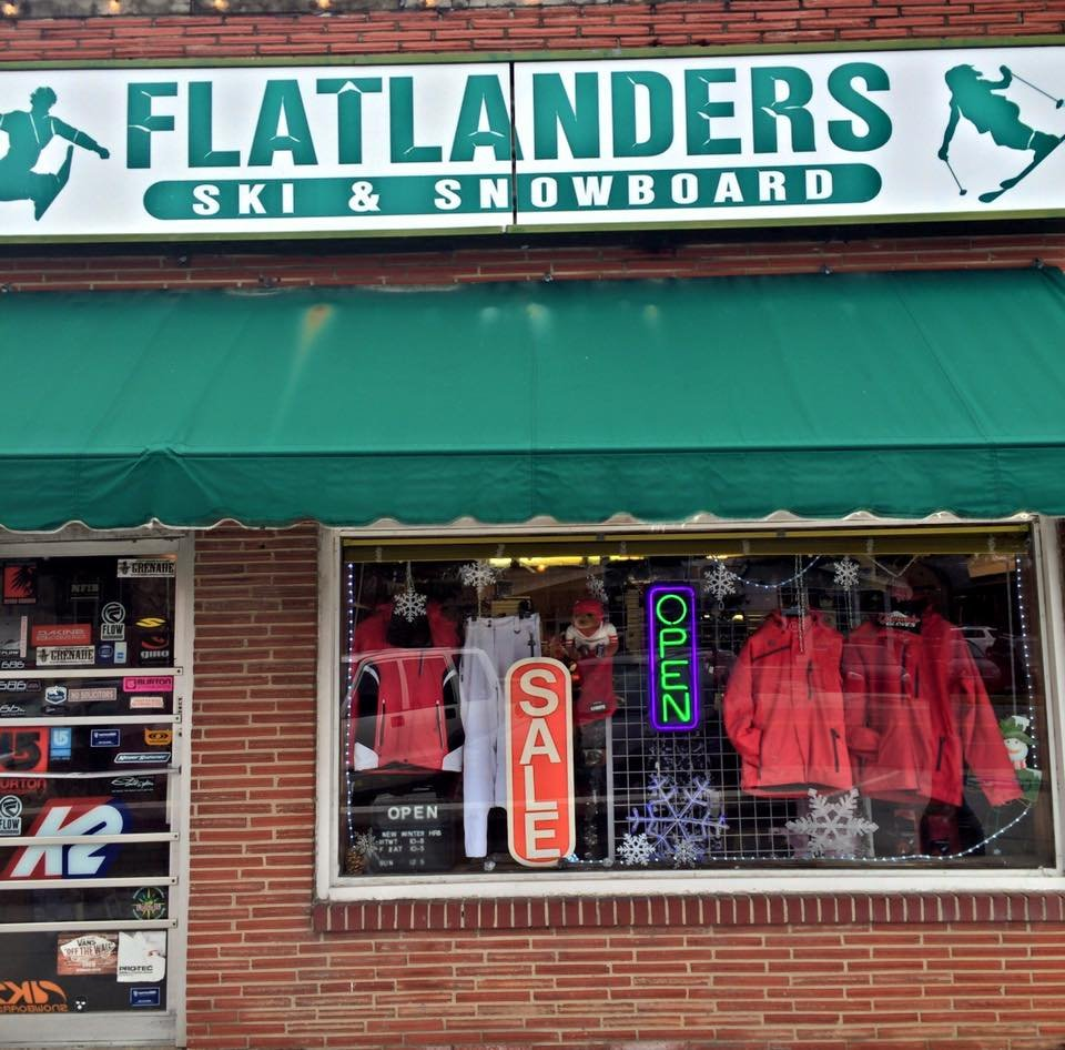Flatlanders Ski & Snowboard: 6110 Johnson Dr, Mission, KS