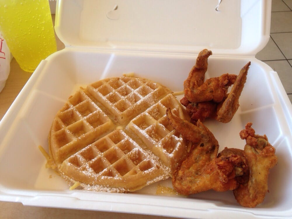Country Style Chicken and Waffles
