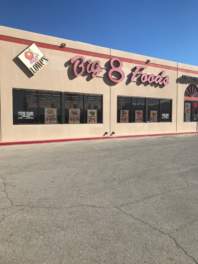 Big 8 Food Stores: 2000 Antonio St, Anthony, TX